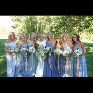 After Six Dresses - After Six Gray Bridesmaid Dress
